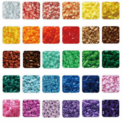 New 1000pcs PERLER/HAMA BEADS for Kids Great Children Fun Toy 50 single color