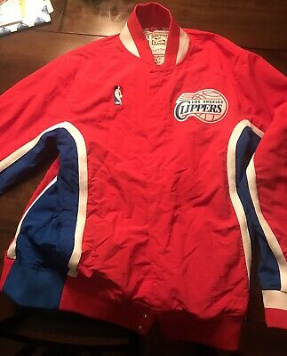 876197a8d5a NBA Mitchell   Ness Authentic Hardwood Classics Vintage Warm Up Jacket Men s  90s