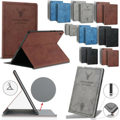 Smart Leather Case Cover For iPad 4 3 2 Mini Air 1 2 Pro 9.7 6th 5th Gen 10.5 11