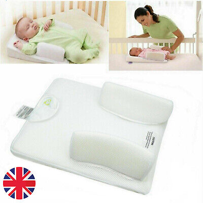 Baby Infant Newborn Sleep Non Roll Shape Anti-Spit Milk Pillow Cushion Nest Pod