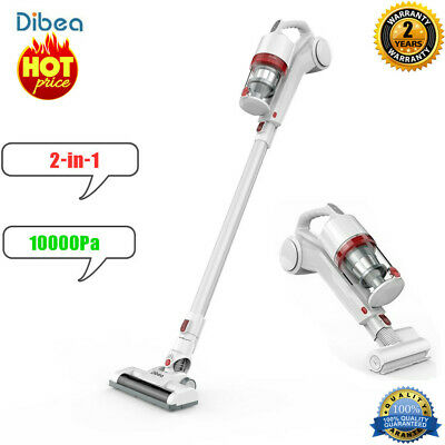Dibea DW200 2-in-1 10000Pa Powerful Cordless Handheld Stick Vacuum Cleaner 150W