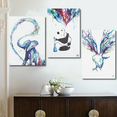 Animal Canvas Painting Picture Art Print Wall Home Decoration Unframed 90x60cm