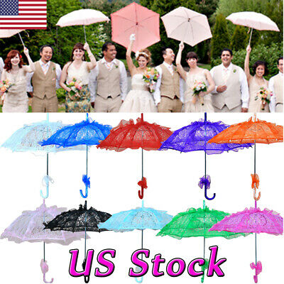 Parasol red blue /& gold w// lace, Apple Princess Fairy Tale Themed Umbrella