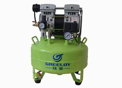 Greeloy Noiseless Oil-Free Air Compressor Driving Dental One Unit 24L 600W