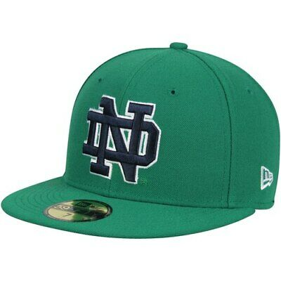 ce9970d489981 New Era Notre Dame Fighting Irish Kelly Green NCAA Basic 59FIFTY GCP Fitted  Hat