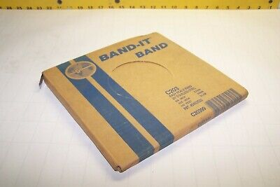 """NEW BAND-IT C203 / C20399 STAINLESS STEEL EASY SCALE BAND 3/8"""" x .025"""" 100 FT"""
