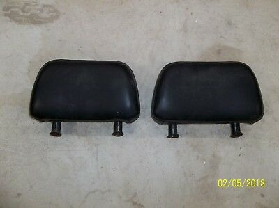 Vw Karmann Ghia, Original Seat Headrest 1969-1974 Coupe Or Convertible, Oem, One