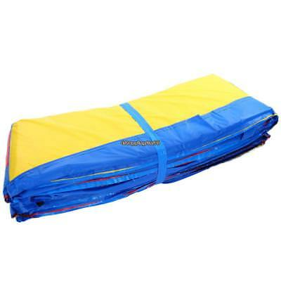 Round Safety Pad Mat Top Quality Cover For 10'/12'/14'/15' Trampoline Frame US