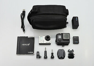 Gopro Hero 3+ Plus Black Edition 1080P 4K Camcorder Digital Hd Video Camera Wifi