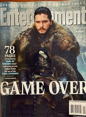 Entertainment Weekly Collectors 2019 - Game Of Thrones  Cover 2 of 16 - JON SNOW