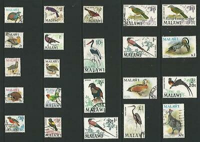 y7844 Malawi / A Small Collection Early & Modern Used
