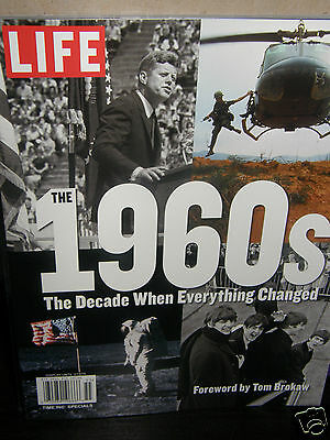 "LIFE  1960's  ""decade when everything""    2015  magazine new/unread/no-label"