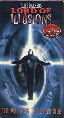 Lord of Illusions (VHS, Unrated; Director's Cut) Clive Barker!