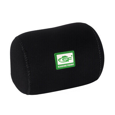 SF Neoprene Conventional Casting Reel Covers Round Baitcast Fishing Reel Cover