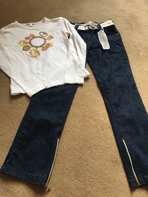 Miss Grant Jeans And T Shirt Age 6/7