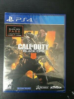Call of Duty Black Ops 4 IIII ( PlayStation 4 PS4) Factory Sealed FREE Shipping