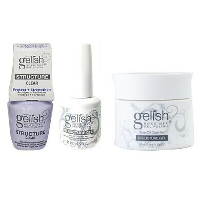 Harmony Gelish Structure Gel - All Sizes Available - CHOOSE ANY!
