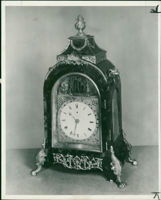 Rtoiseshell Bracket Clock - Vintage photo