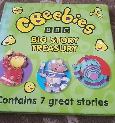 Cbeebies Big Story Treasury Book Tweenies Teletubbies Roly Mo Lunar Jim Fimbles