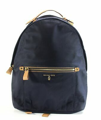 5592c8055fb9 Michael Kors NEW Admiral Blue Kelsey Nylon Backpack Handbag Purse $178- #041
