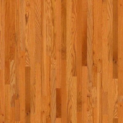 """Red Oak Prefinished Solid Wood Flooring, Butterscotch, 3 1/4"""" x 3/4"""", Sample"""