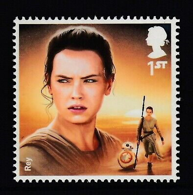 Star Wars - Rey   On  2015  Gb  Unmounted Mint Stamp