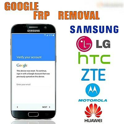 REMOTE GOOGLE ACCOUNT Bypass Removal, Reset Unlock FRP for LG /ZTE/ ALCATEL  /BLU