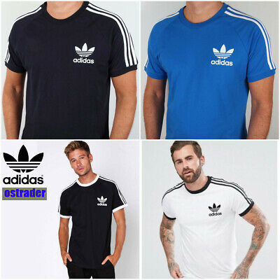 Adidas Originals Raglan Retro Mens t Shirt Crew Neck Short Sleeve S M L XL XXL✅