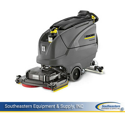 New Karcher B 80 W Bp Floor Scrubber - Scrub Deck Sold Separately, 24V/260