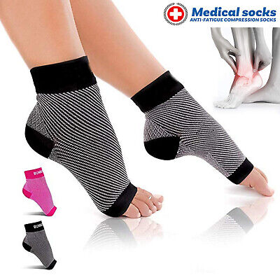 Foot Sleeve Plantar Facilities Compression Socks Sore Achy Swelling Heel Ankle A