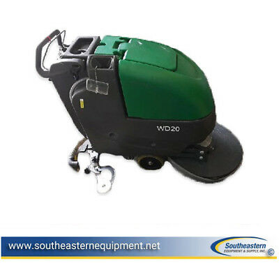 Reconditioned Bulldog WD20 Disk Traction Drive Automatic Scrubber