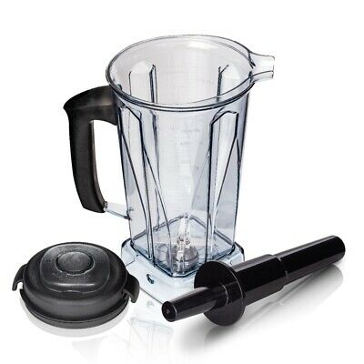 2L Wet and Dry Jug, Container with Tamper For Vitamix Blender BPA FREE. 2 in 1