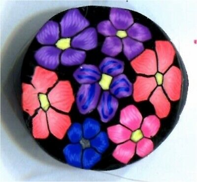 "polymer clay cane round # 91093   7//8/"" x 2/""   1 ounce raw"