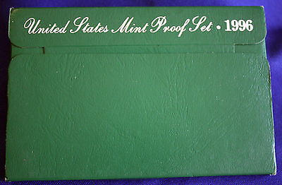 1996-s  U.S.Proof set. Genuine. complete and original as issued by US Mint.