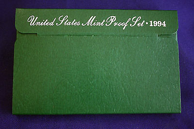 1994-s  U.S.Proof set. Genuine. complete and original as issued by US Mint.