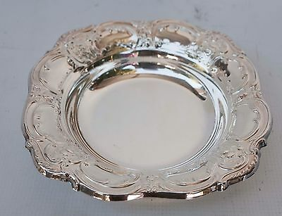"Silver plated Bon-Bon Bowl / Candy Dish 8""- Towle E.P. 4022 OLD MASTER 1942"