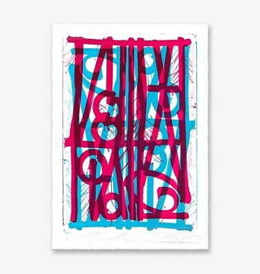 """Retna """"Ludavico & Ludovico"""" Blue and Pink edition of 33 **SOLD OUT**"""