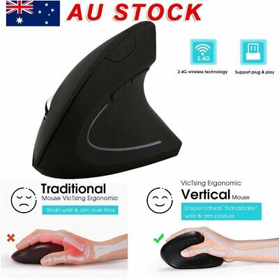 2.4G Wireless Vertical Mouse Ergonomic High Precision Optical Mouse C9