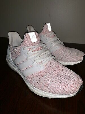 3f77ec84e64 NEW Rare Adidas Ultra Boost 4.0 Candy Cane Red Velvet BB6169 Running Shoes