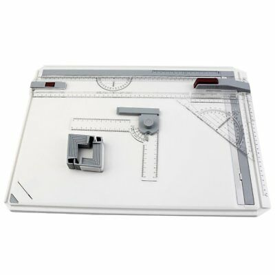 A3 Drawing Board Table with Parallel Motion Adjustable Angle Art Drawing ToolsC9