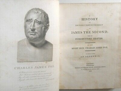 1808 1st edn  King James II The English Civil War Oliver Cromwell King Charles