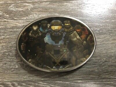 Halo Reach collectible belt buckle Very rare