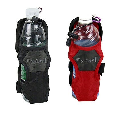Outdoor Hiking Camping Water Bottle Holder Belt Carrier Pouch Nylon Bag AU