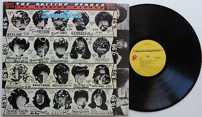 K41Rolling StonesSome Girls (1)COC 39108US 1st Version LP in Gimmick Sleeve