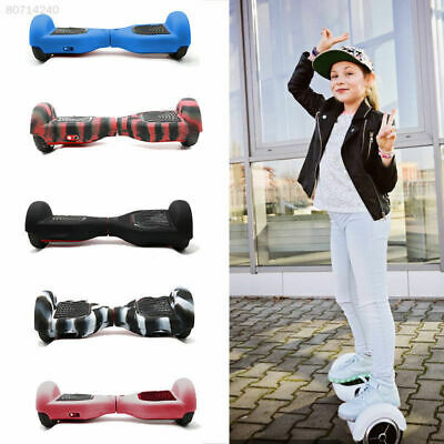 """Silicone Case Cover For 6.5"""" Wheels Self Balancing Scooter Hover Board Rubber"""