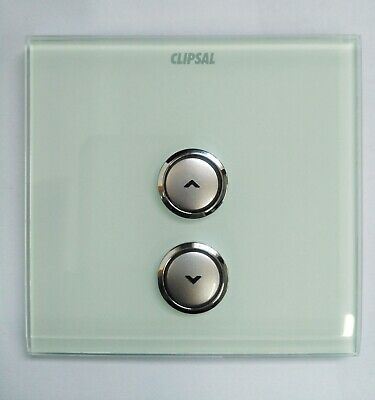 Clipsal Electric ULTI 1 Gang Crystal Glass Tint Dimmer Cover Plate UC21DM