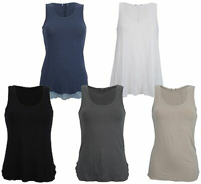 Ex Store Ladies Twin Pack of Vest Style T-Shirt Tops