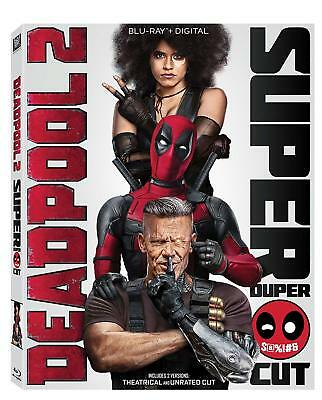 Deadpool 2 (Blu-ray Disc, 2018) - Super/Extended Version
