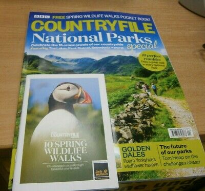 BBC CountryFile magazine #150 2019 National Parks Special + 10 Wildlife Walks