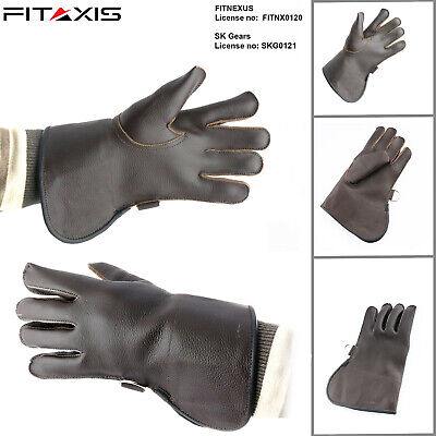 Children Eagle Falconry Nubuck Leather Hunting Birds hawk Single Layer Gloves